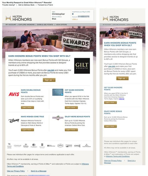 Four Responsive Email Layouts