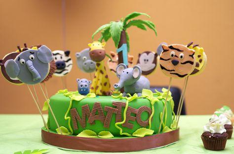 torta giungla by Sisters'Cake