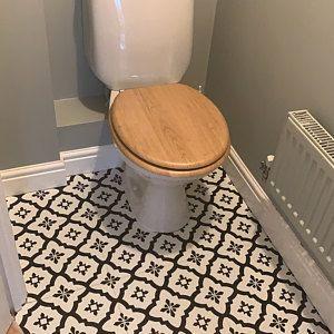 Comet Peel Stick Vinyl Floor Tiles Etsy In 2020 Vinyl Flooring Vinyl Tile Flooring Bathroom Cushioned Vinyl Flooring