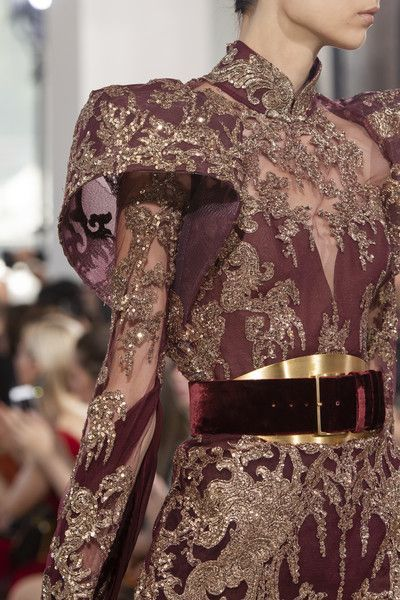 Elie Saab Fall 2019 Runway Pictures -  Elie Saab at Couture Fall 2019 – Details Runway Photos  - #CasualOutfits #Elie #ElieSaab #Fall #HauteCouture #Pictures #ReadyToWear #Runway #Saab