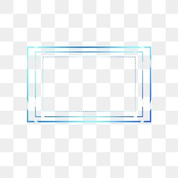 Tech Border Blue Box Geometric Dialog Element Technology Border Frame Box Png Transparent Clipart Image And Psd File For Free Download Digital Frame Frame Graphic Design Background Templates
