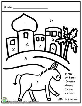 Mi Burrito Sabanero Coloring Page In Spanish Coloring Pages