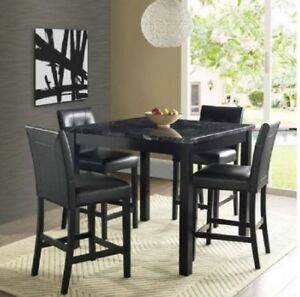 Black Counter Height Dining Set Counter Height Dining Sets Dining Room Sets Dorel Living