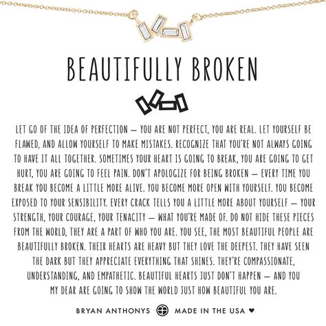 Bryan Anthonys dainty beautifully broken necklace 14k gold ... beautiful necklaces...