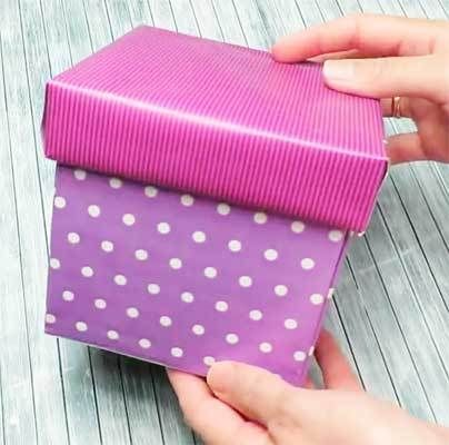 Caja Explosiva Gigante Medidas Y Paso A Paso Gifts Scrapbook Electronic Products
