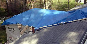 Blue Tarp Sale Trade Your Tarp For Up To 500 In Roof Installation Repairs Roof Installation Sun Lounger Home Improvement