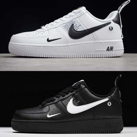 Nike Air Force 1 07 LV8 Utility Rücken und Weiß #Genel