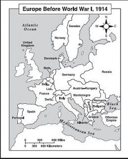 Europe After Ww1 Map Answers.Europe After Ww1 Map Worksheet Europe Map Worksheet Answers