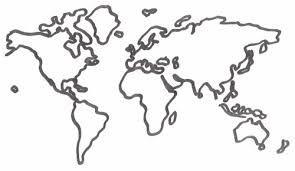 Skizze Weltkarte Vorlage Kostenlosen Vektoren 14