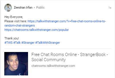 Free random text chat strangers