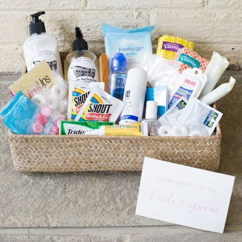Signature Restroom Amenity Basket