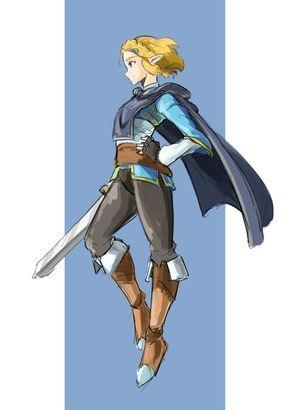 Alright Nintendo Just Let Me Play As Her Please Automaticgiraffe Legend Of Zelda Breath Zelda Art Legend Of Zelda