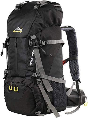 dc5025d2da4e Best Seller YOREPEK 50L Hiking Backpack, Waterproof Camping Trekking ...