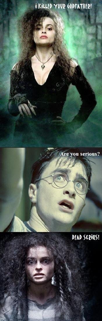#funny #harrypotter #bellatrix