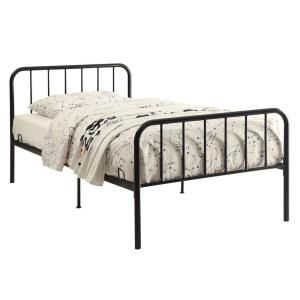 4d Concepts Bed In A Box Black Twin Bed Frame 121472 Black Twin