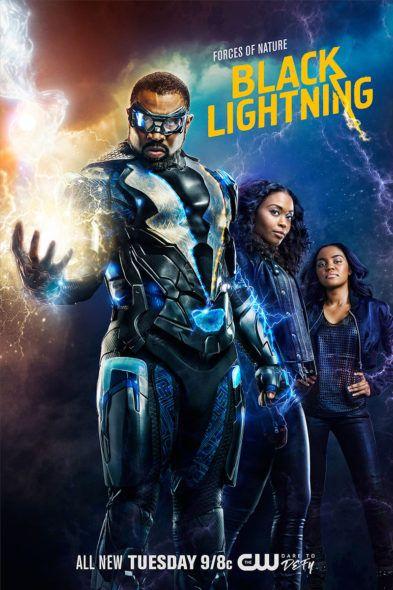 Black Lightning Tv Show On The Cw Season Two Renewal Canceled Renewed Tv Shows Tv Series Finale Black Lightning Tv Show Black Lightning Black Comics