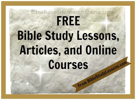 Looking for FREE Bible Study Resources? This site was submitted by a reader recently- thank you for sharing! Bible Study Lessons offers online courses: The Gospel of Mark Jesus is Lord The Books of Acts Following Jesus Conversion From Sin There are also articles, commentaries, audio Bible study recordings, and more resources! Head over…
