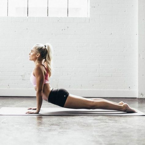 Upward Facing Dog is a yoga pose that will both frustrate you (at first) and end up being one of your favorite poses in your practice.