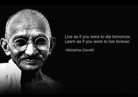 5 Twitter Zitate Von Berühmten Leuten Gandhi Zitate Und