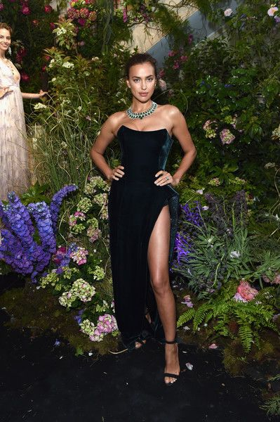 Irina Shayk attends Chopard Secret Night during the 71st annual Cannes Film Festival.