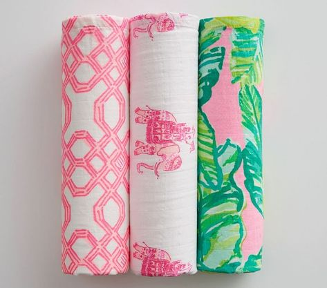 Lilly Pulitzer X Pottery Barn Collection Restocked
