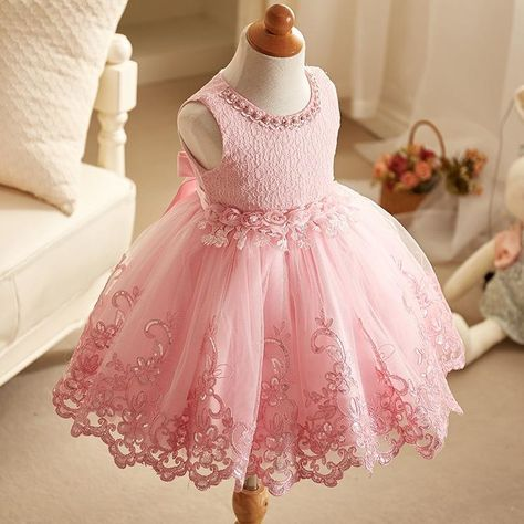 46cf7925ee1 Sleeveless pink little girl lace dresses – Fabulous Bargains Galore