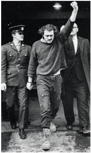 Paul Rose A Member Of The Front De Liberation Du Quebec Flq