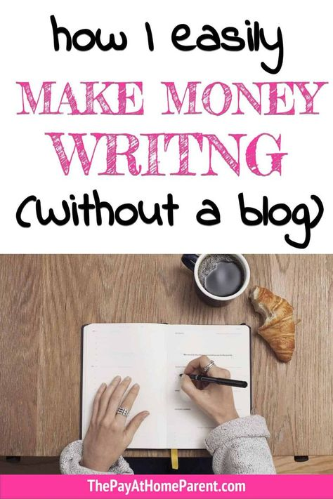 Best Ways To Make Money Writing From Home [Without A Blog]