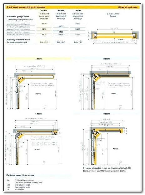 Garage Roller Door Standard Sizes Garage Door Sizes Garage Door