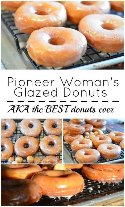 Pioneer Woman's Glazed Donuts   Baking Recipes, #Baking #Donuts #Glazed #Pioneer #Recipes #Womans