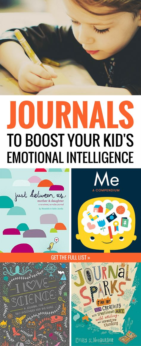Want to boost your child's emotional intelligence? Give them this very special kind of journal