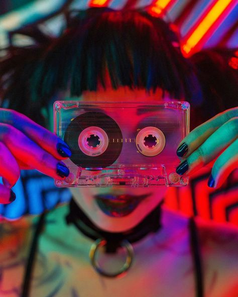 Cyberpunk and Retrowave Themed Photography by Andrey Maximov