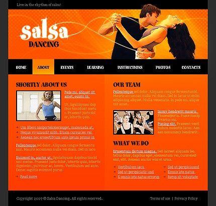 40 best Dance Studio images on Pinterest Dance studio, Flash - home for sale template