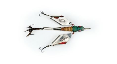 5Pcs Rotating Blade Fishing Metal Spinner Bait Spoon Fishing Wobblers Tackle.Z1