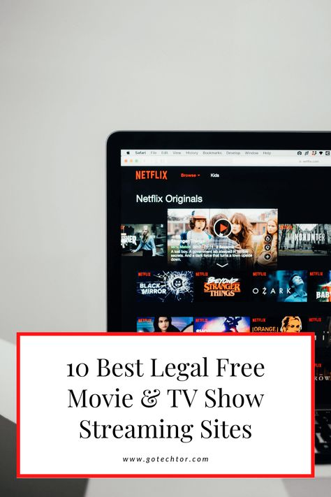 10 Best Legal Free Movie & TV Show Streaming Sites