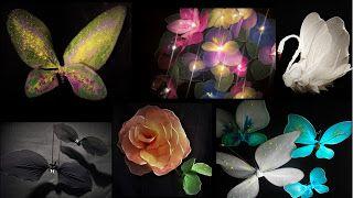 Pomysly Plastyczne Dla Kazdego Diy Joanna Wajdenfeld Kwiaty I Inne Ozdoby Z Rajstop Diy Home Decor Decor