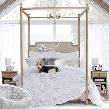 Colette Canopy Bed In 2021 Canopy Bed Frame Bedroom Decor Canopy Bed