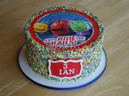 Best Images About Chuggington Birthday Ideas On Pinterest - Chuggington birthday cake