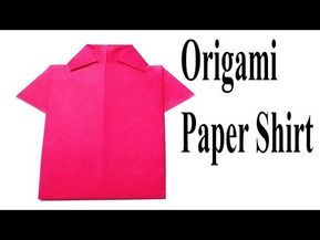 Step By Step Instructions How To Make Origami A Shirt. Stock ...   217x289