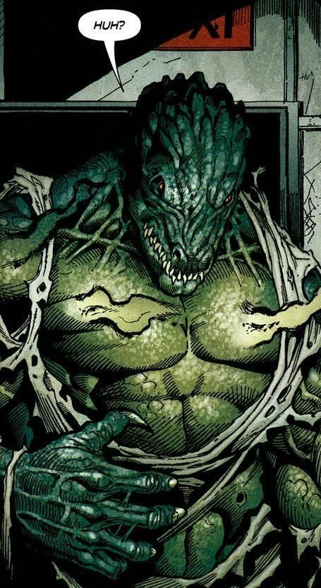 Killer Croc Vs Clayface