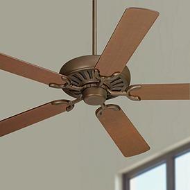 60 Casa Equinox Oil Rubbed Bronze Walnut Blade Ceiling Fan