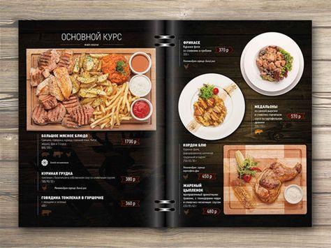 25 Inspiring Restaurant Menu Designs Restaurant menu design and Menu - how to make a restaurant menu on microsoft word