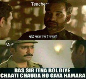 When The School Teacher Is Proud Of The Student Funny Jokes In Hindi Jokes Quotes Funny School Jokes