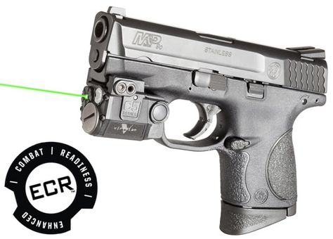 Viridian Green Laser Sights Universal Sub-Compact Green Laser Sight with Tactical Light