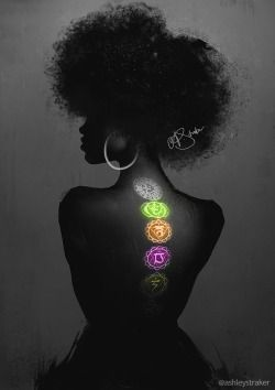 Black Women Art! — ashleystraker:   'Study painting'   Photo...