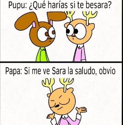Pin By Susy On Memes En Espanol Papa Y Pupu Memes En Espanol Character Fictional Characters