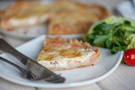 Tarte Au Saumon Recette Poisson Ascendant Gourmand Pinterest