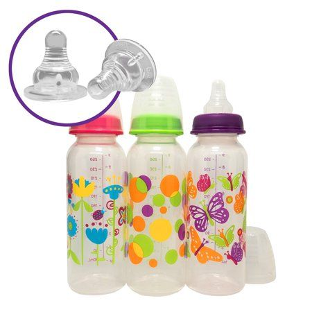 Parent S Choice Bpa Free Baby Bottle 9 Oz 1 Bottle Colors May Vary Walmart Com Free Baby Bottles Bpa Free Baby Bottles Bpa Free Baby