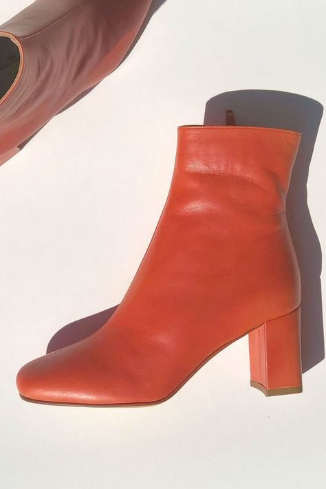 6dbbc6cce3a Maryam Nassir Zadeh MNZ Agnes Boots in Flame Orange at STATURE