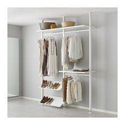 Dein Schrank Muster In 2020 Kleideraufbewahrungssystem Ikea Elvarli Kleiderschrank Selber Bauen